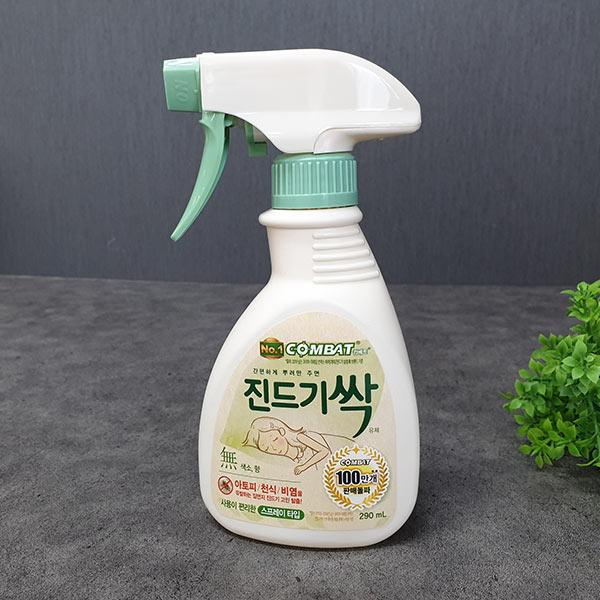 컴배트 진드기싹 스프레이 허브향 290ml