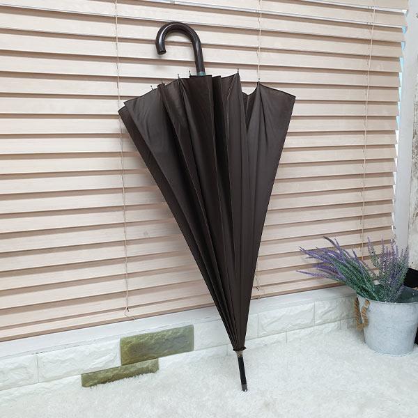 비스토어 클래식 장우산 브라운