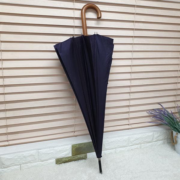 비스토어 클래식 장우산 퍼플(나무손잡이)