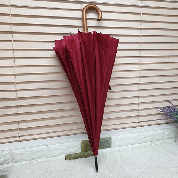 비스토어 클래식 장우산 레드(나무손잡이)