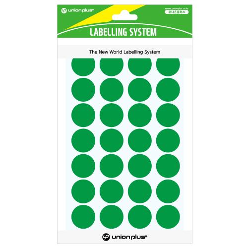 원형스티커 일반 (330 녹색)