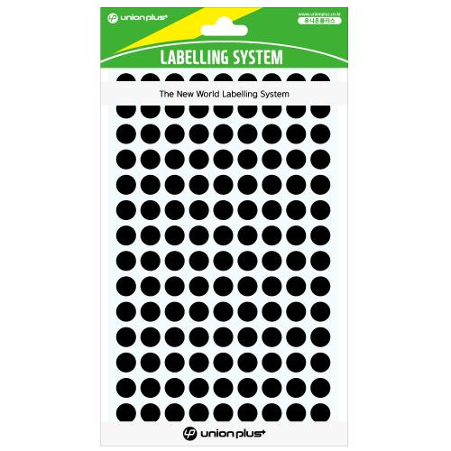 원형스티커 일반 (304 흑색)