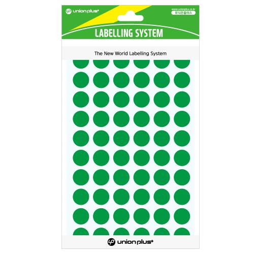 원형스티커 일반 (302 녹색)