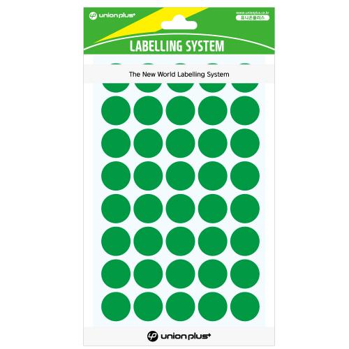 원형스티커 일반 (301 녹색)