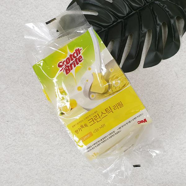 스카치 브라이트 향기톡톡 크린스틱 리필 레몬향 5개입