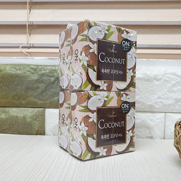 온더바디 편안한 코코넛 비누 90g 4개입
