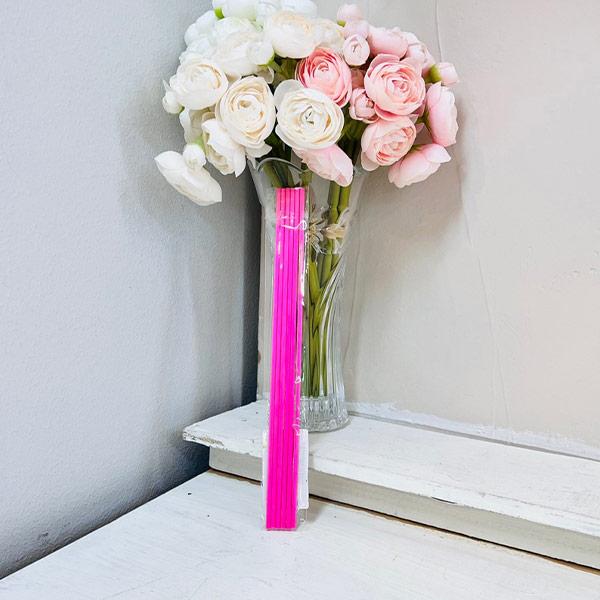 ABM 디퓨저 섬유 스틱 핑크 6개입