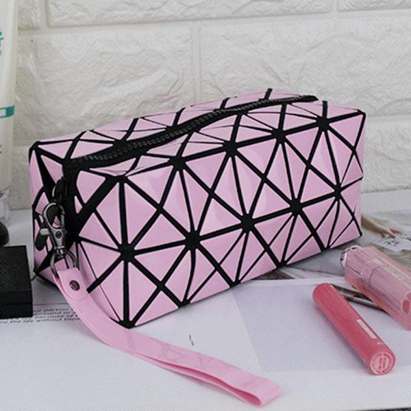 ABM 사각 큐브 파우치 핑크