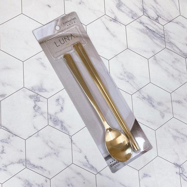 루나 티타늄 한수저 1인조