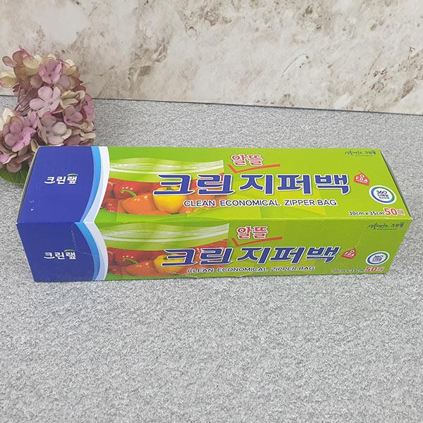 크린랩 알뜰지퍼백(특대) 30x35x50매