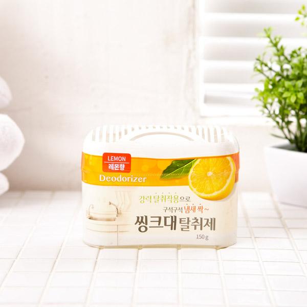 씽크대 탈취제 레몬 [제작 대량 도매 로고 인쇄 레이저 마킹 각인 나염 실크 uv 포장 공장 문의는 네이뽕]