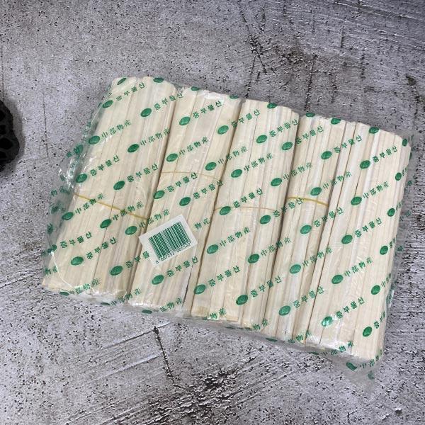 중부 나무젓가락 비닐 (60px5개)