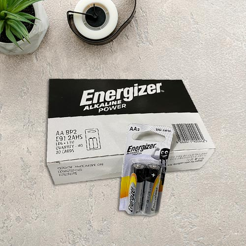 [001]에너자이저AA2입 묶음 2px20카트 [제작 대량 도매 로고 인쇄 레이저 마킹 각인 나염 실크 uv 포장 공장 문의는 네이뽕]