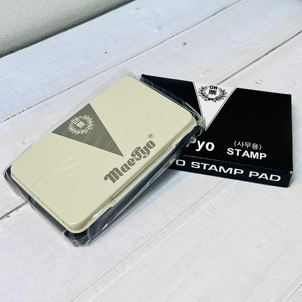 매표스탬프패드-흑색 2700 [제작 대량 도매 로고 인쇄 레이저 마킹 각인 나염 실크 uv 포장 공장 문의는 네이뽕]