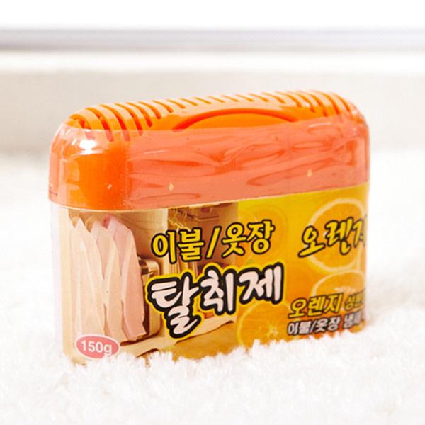 [더산콜]해피룸이불옷장겔탈취제 오렌지