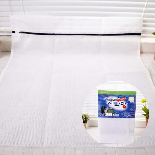 영진고급세탁망-60x60 대형점퍼용 [제작 대량 도매 로고 인쇄 레이저 마킹 각인 나염 실크 uv 포장 공장 문의는 네이뽕]