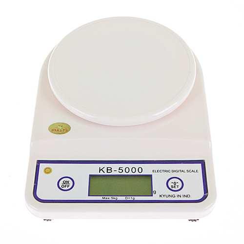 경인디지털주방저울-5kg kb-5000