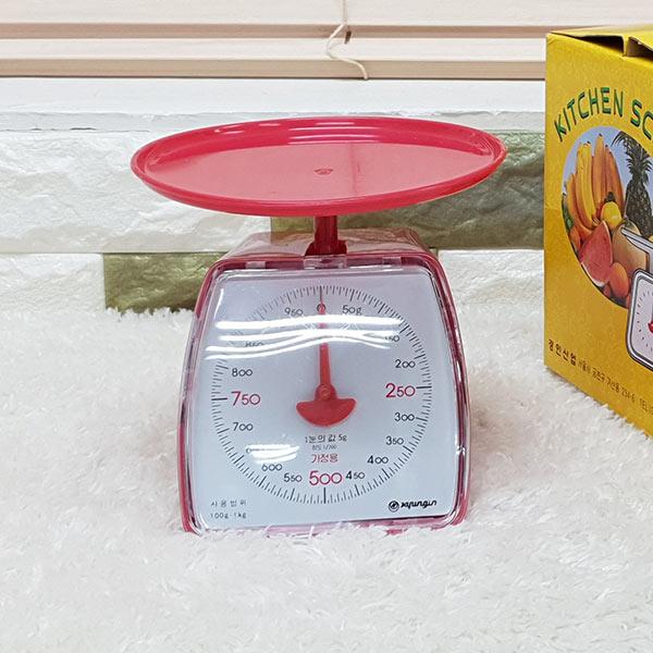 가정용 주부저울 1kg