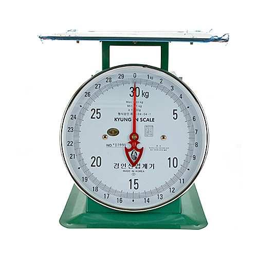경인지시저울 30kg