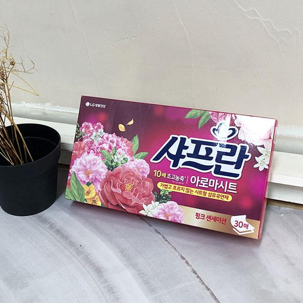 Lg샤프란 아로마시트30매 핑크센세이션