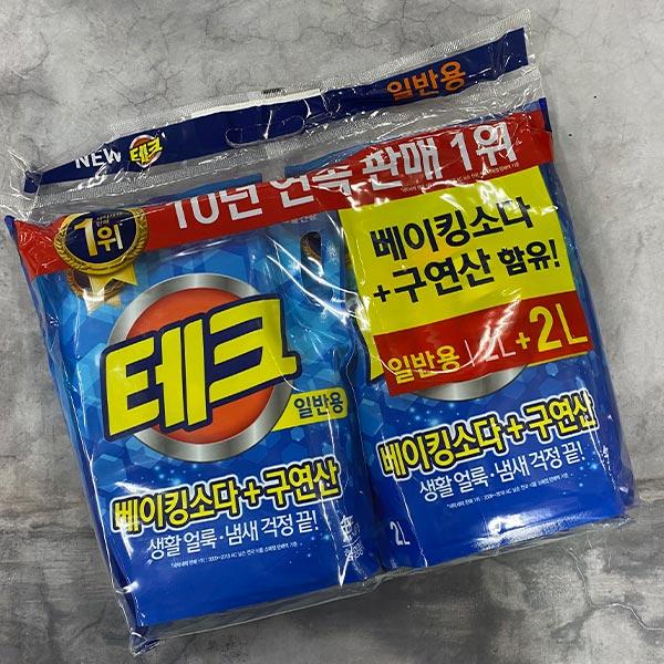 109 LG테크천연베이킹소다액체세제 리필 일반용2L 2L [제작 대량 도매 로고 인쇄 레이저 마킹 각인 나염 실크 uv 포장 공장 문의는 네이뽕]