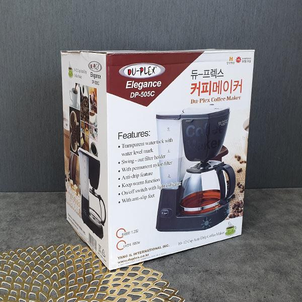 DP-505C 듀프렉스 커피메이커 1.25L