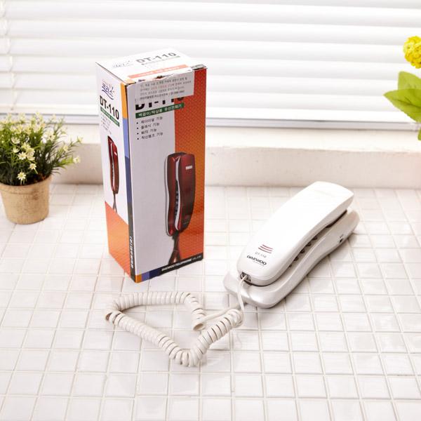 코러스전화기 DT-110(색상랜덤) [제작 대량 도매 로고 인쇄 레이저 마킹 각인 나염 실크 uv 포장 공장 문의는 네이뽕]