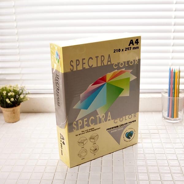 스펙트라칼라용지 a4 크림색