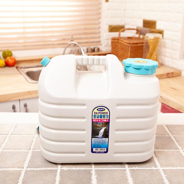 [더산콜]엔파워 물탱크-항균 꼭지-20L