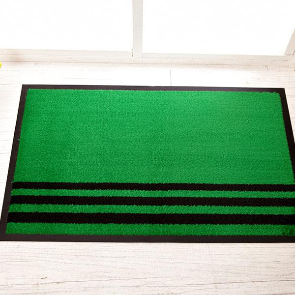 카페트매트(무지) 소-녹색(50x80) [제작 대량 도매 로고 인쇄 레이저 마킹 각인 나염 실크 uv 포장 공장 문의는 네이뽕]