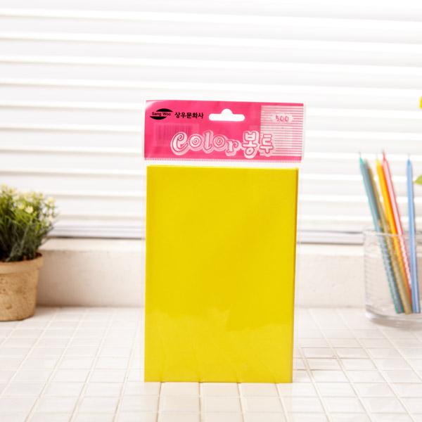 카드봉투 칼라 중-6매 색상랜덤발송 [제작 대량 도매 로고 인쇄 레이저 마킹 각인 나염 실크 uv 포장 공장 문의는 네이뽕]